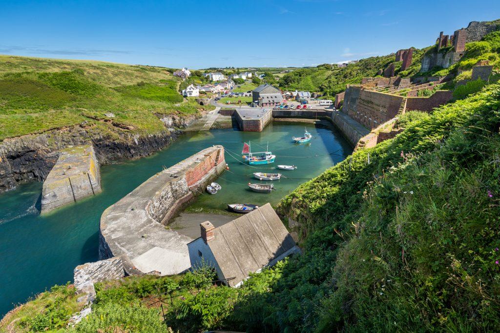 Fishing village of Porthgain