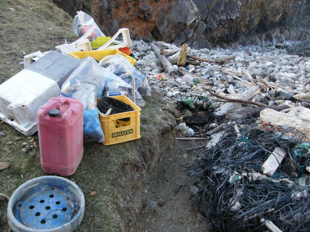 Marine Litter from Bullslaughter Bay