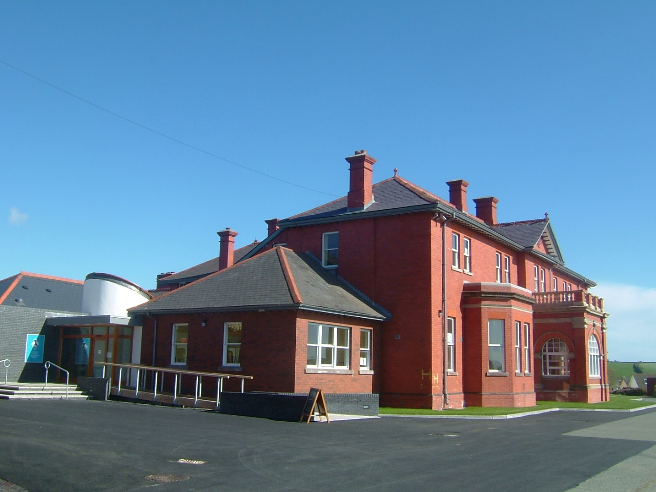 The Pembrokeshire Coast National Park Authority's Llanion Park headquarters.