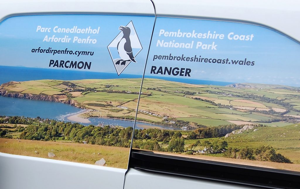 Pembrokeshire Coast National Park Authority Ranger Van