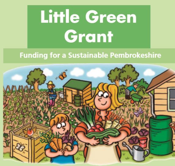 Little Green Grant Leaflet Cover