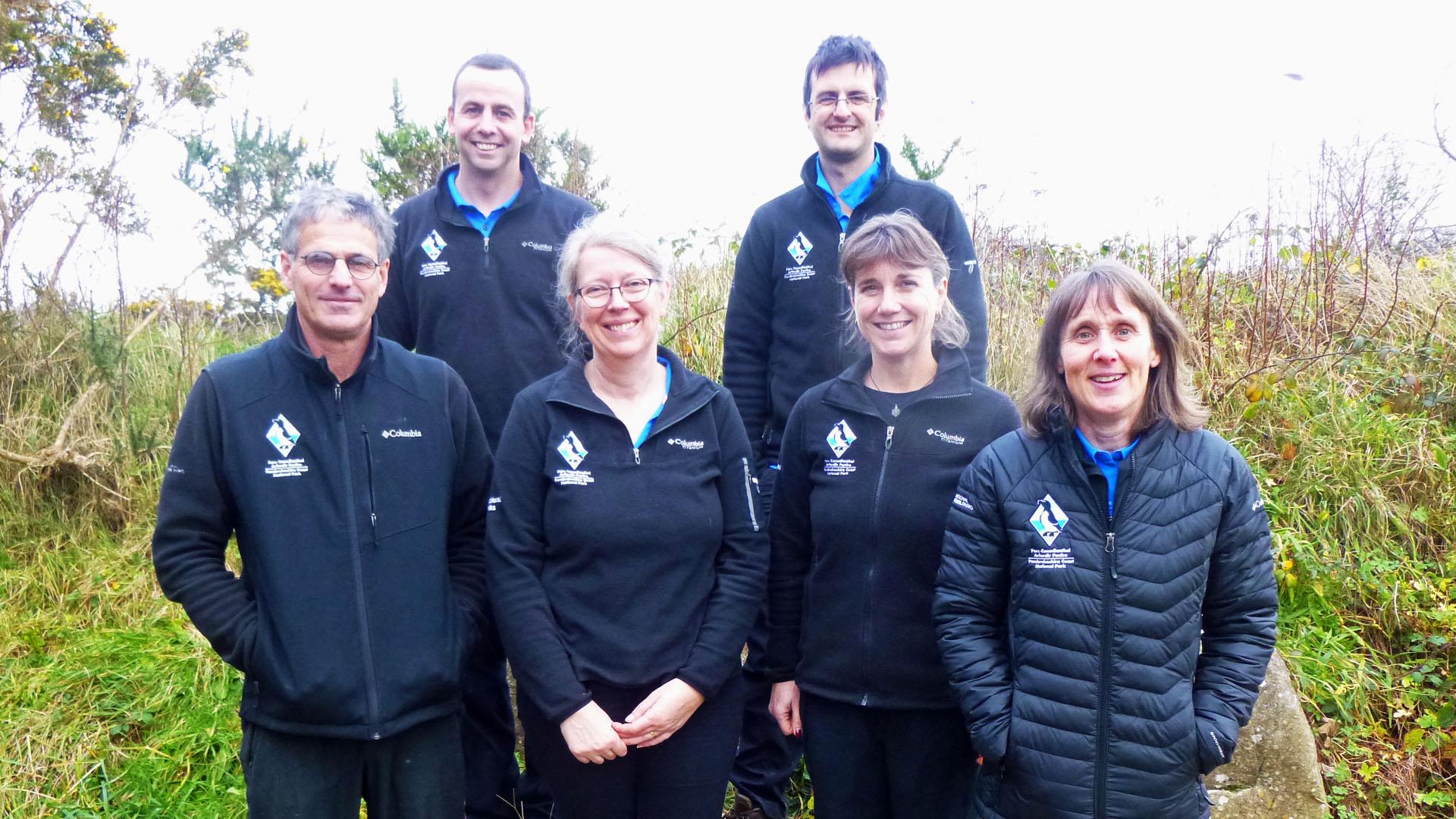 Pembrokeshire Coast National Park Authority Rangers.
