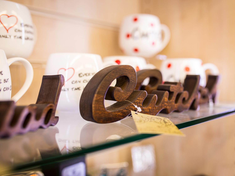Carew Castle Shop, Carew Castle Pembrokeshire Coast National Park, Wales, UK