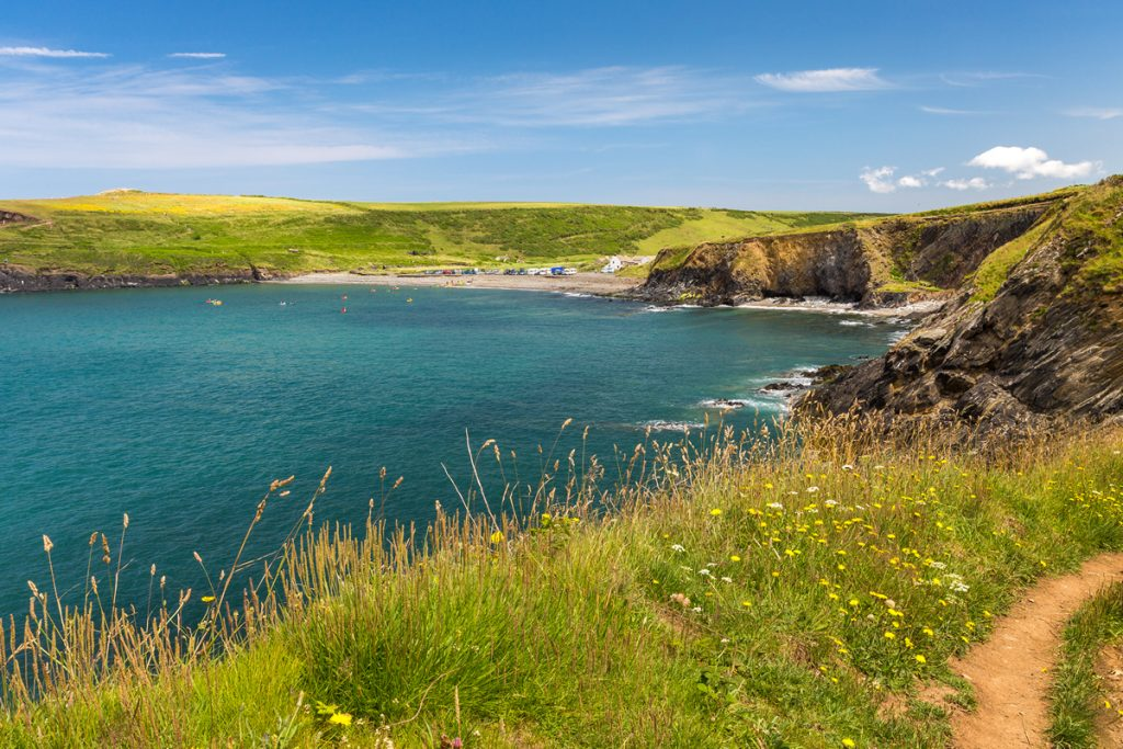 View froof to Abereiddi from the Pembrokeshire Coast Path