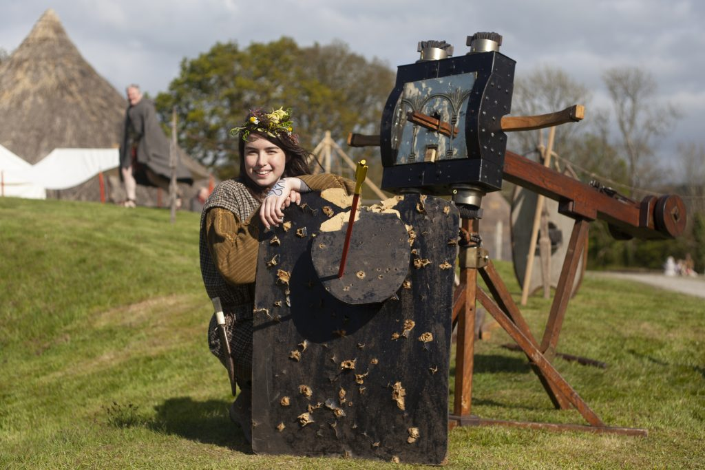 Event at Castell Henllys Iron Age Village
