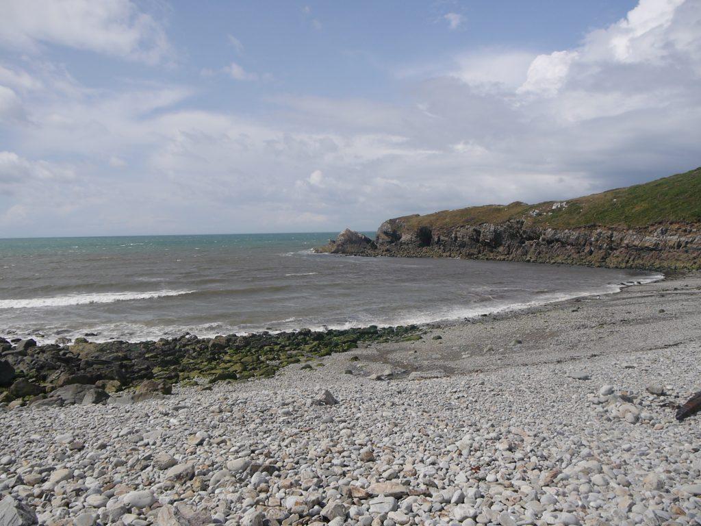 Aber Bach beach, Pembrokeshire Coast National Park, Wales, UK