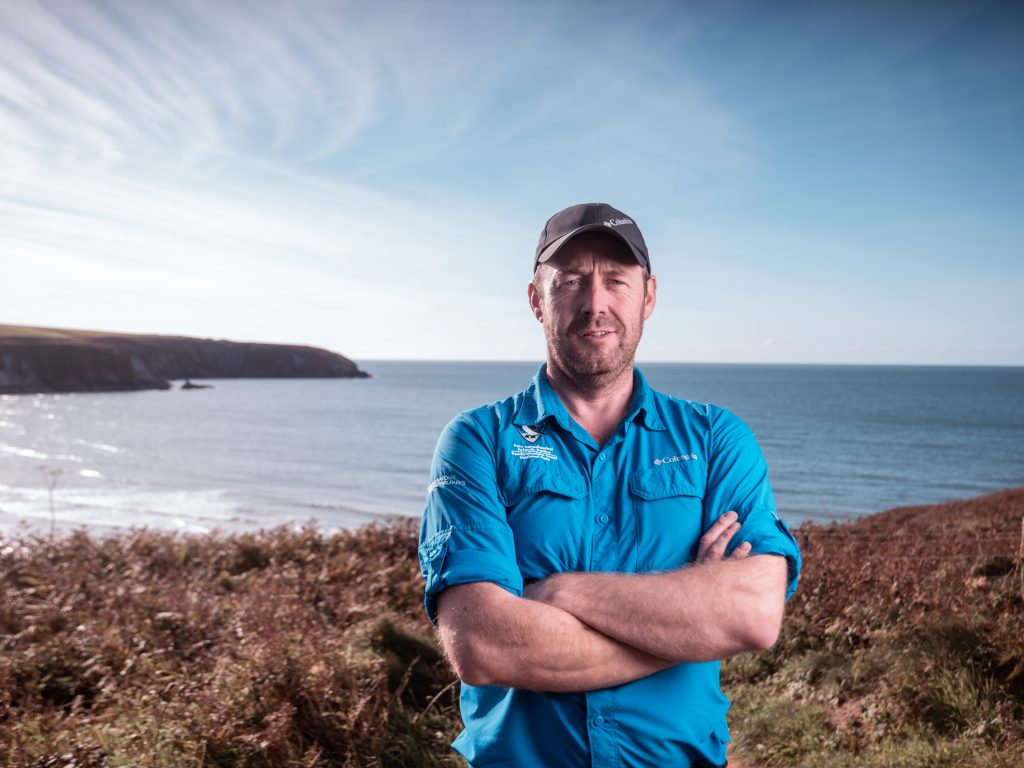 Pembrokeshire Coast National Park Ranger Richard Vaughan