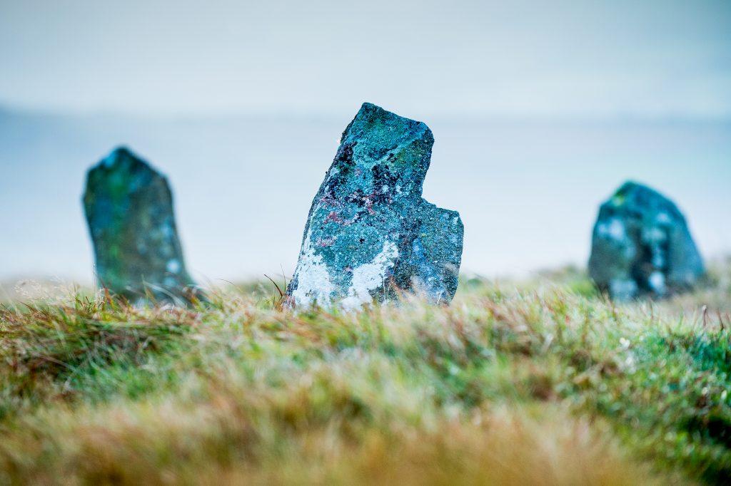 Bedd Arthur stone circle, Preseli Hills,