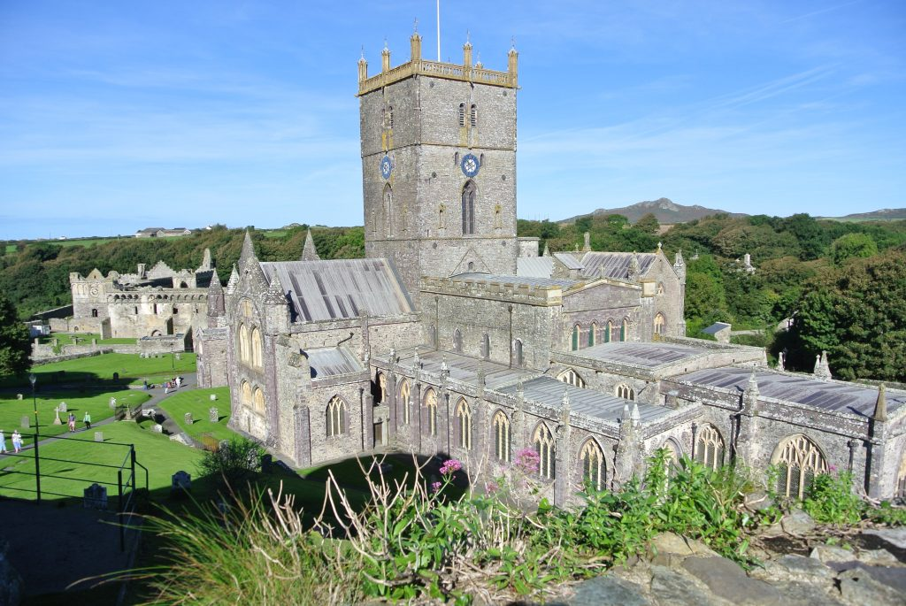 St Davids Cathedral, Pembrokeshire Coast National Park,