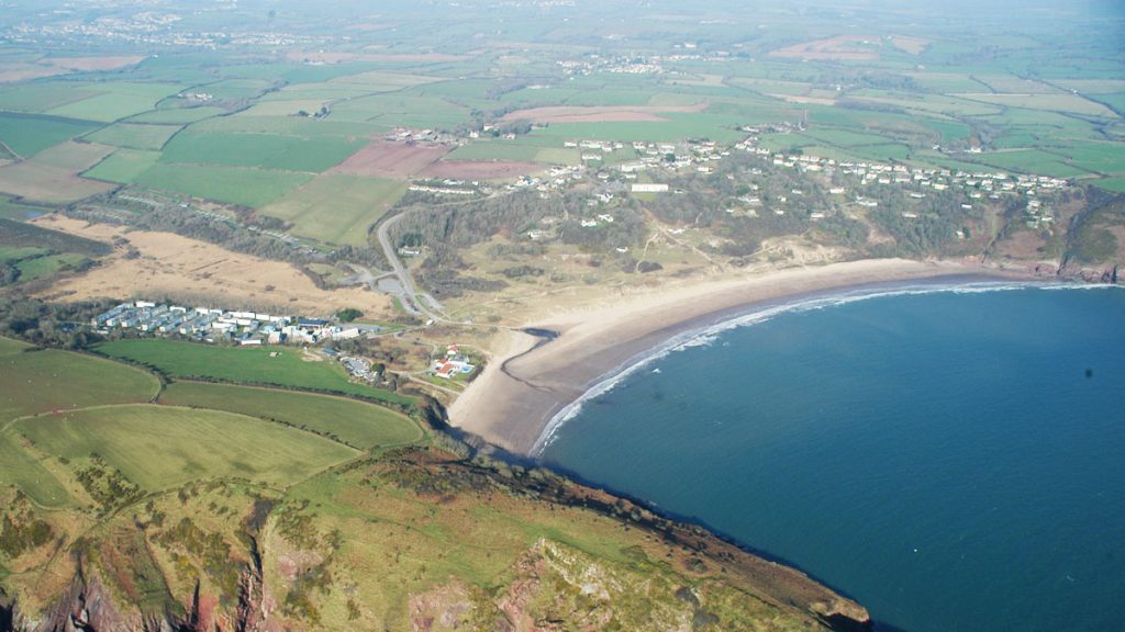 Freshwater East Aerial photo