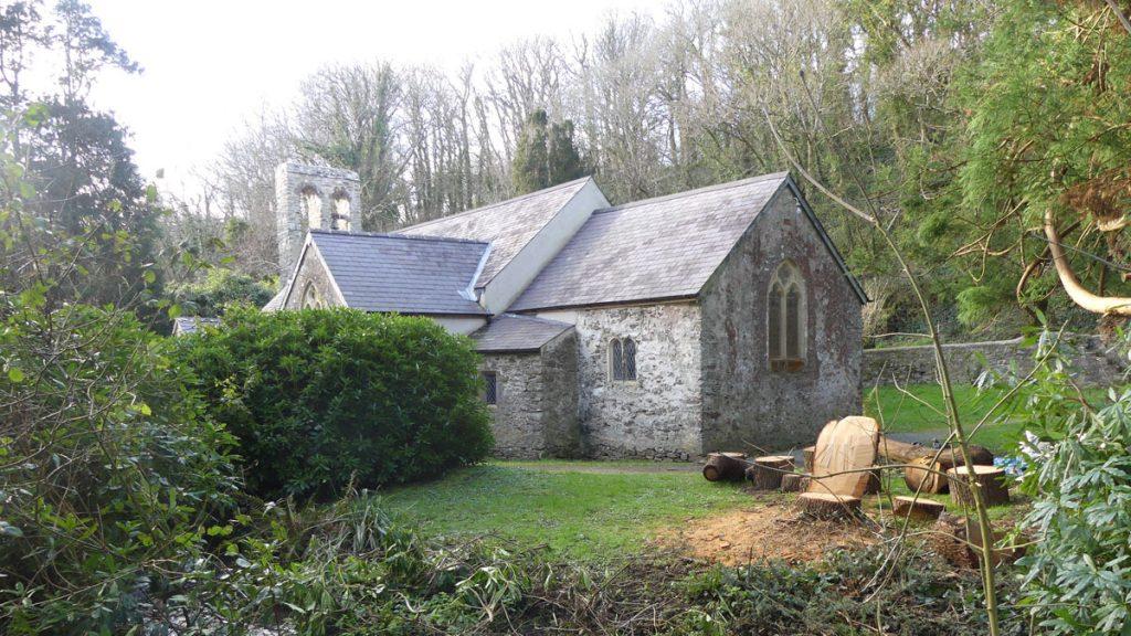 Monk Haven Church near St Ishmaels