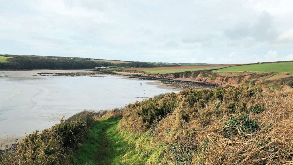 Looking towards Sandy Haven from the Pembrokeshire Coast Path