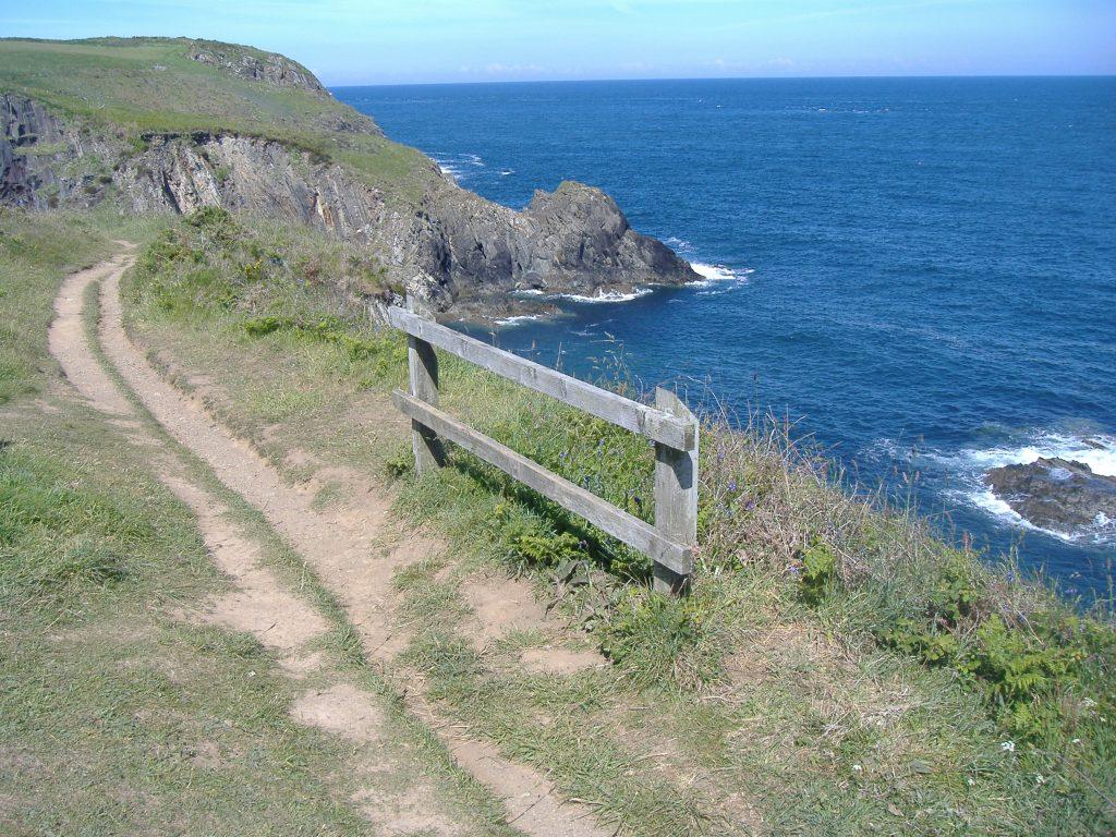 Pembrokeshire Coast Path at Pwllcaerog
