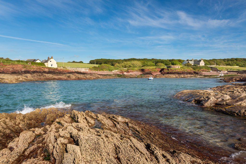 St Brides Haven in the Pembrokeshire Coast National Park