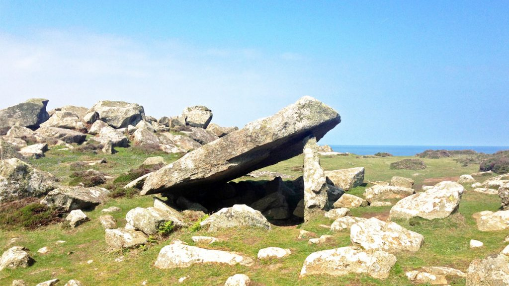 Coetan Arthur Burial Chamber, St David's Head