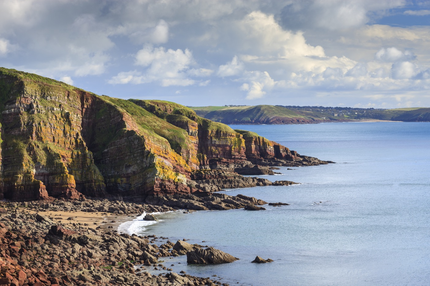 Looking towards Grernala Point near Stackpole