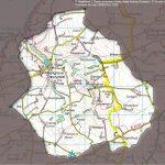 Map of Ceibwr Catchment