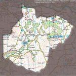 Map of Afon Clydach Catchment