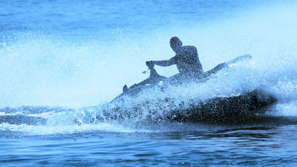 Personal watercraft (commonly referred to as jetski)