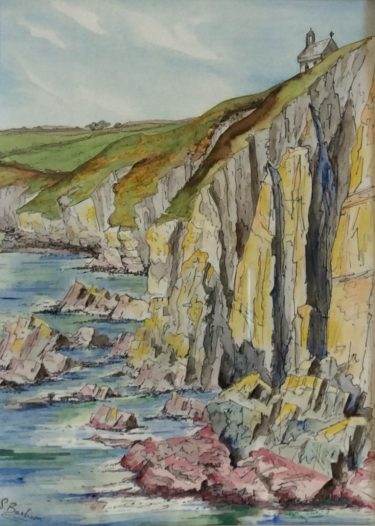 Sally Barham artwork inspired by the St Davids peninsula
